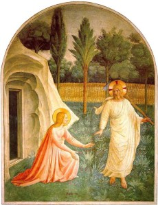 Mary and the Risen Christ